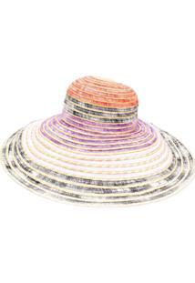 Missoni Mare Chapéu Color Block - Preto