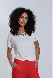 Camiseta Pompom Feminina Acrobat