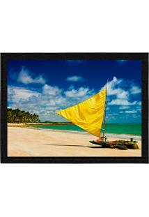 Capacho - Tapete Colours Creative Photo Decor - Jangada Brasil Azul