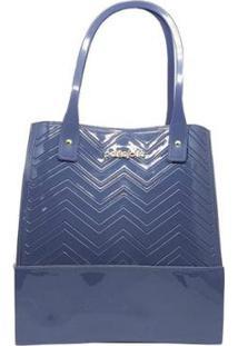 Bolsa Petite Jolie Pj3911 Feminina - Feminino-Azul
