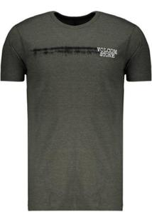 Camiseta Volcom Long Fit Courtesy Masculina - Masculino