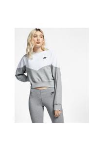 Blusão Nike Sportswear Heritage Feminino
