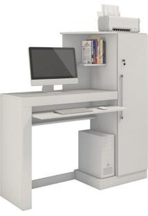 Escrivaninha Office Aroeira Jcm Movelaria -Branco