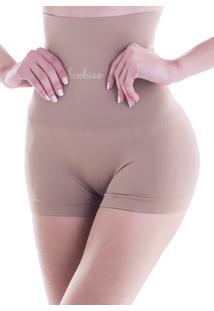 Calcinha Cinta Shorts Victoria Bege 635 - M