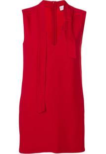 Red Valentino Blusa Com Detalhe De Laço - Vermelho