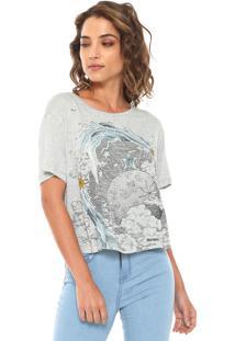 Camiseta Lez A Lez Silk Touch Cinza