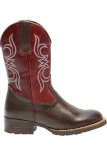 Bota Country 3807 Triton Marron - Masculino