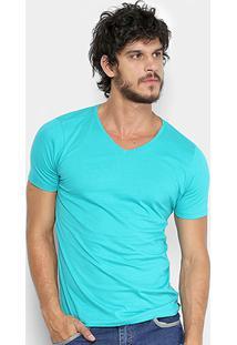 Camiseta Kohmar Gola V Básica Masculina - Masculino