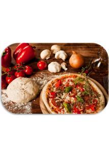 Tapete Wevans Pizza Marrom