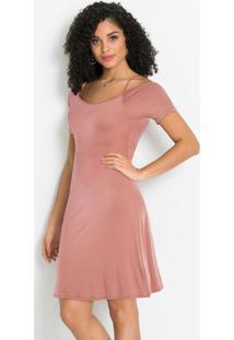 Vestido De Alcinhas Godê Rosê