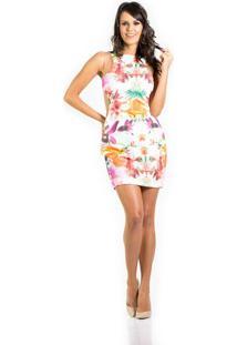 9a731a5f0a Vestido Fashion Vazado feminino