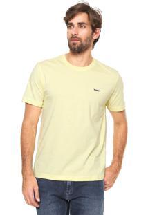 Camiseta Wrangler Collecti Amarela