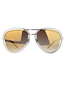 Óculos De Sol Atitude At3198 04A/53 Prata