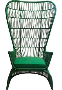 Poltrona Monalisa De Corda Verde - Incolor - Dafiti