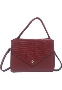 Bolsa Pequena Casual Importada Sys Fashion Vermelho