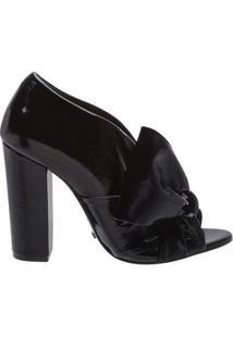 Sandália Maxi Lace Verniz Black   Schutz