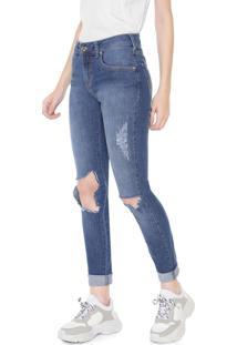 c658edd29 R$ 209,99. Dafiti Calça Jeans Triton Skinny Fatima Azul