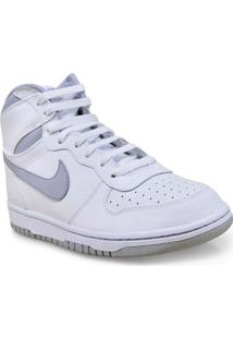 Tenis Masc 336608-118 Big Nike High Branco/Cinza