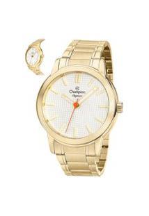 Relógio Analógico Champion Feminino - Cn27545H Dourado