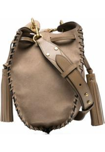 Isabel Marant Étoile Radja Suede Bucket Bag - Neutro
