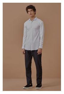 Camisa Ml Suedine Pima