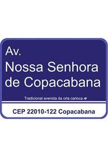 Jogo Americano Ruas Do Rio De Janeiro - 4 Pecas