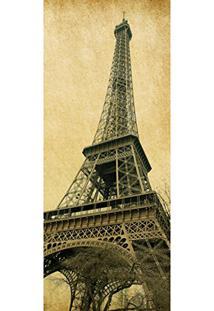 Painel Fotográfico Autocolante Para Porta Com Laminação - Torre Eiffel (0,92M(L) X 2,15M(A))