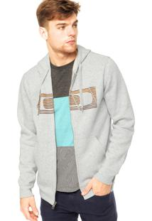 Blusa Moletom Oakley The Hype Fleece Light Heather Grey