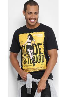 Camiseta Code Hotshirts Pin Up Masculina - Masculino