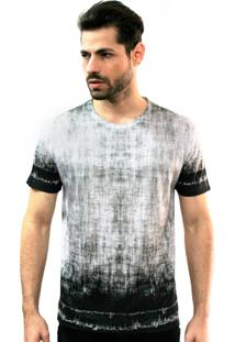 Camiseta Klauk Textura Cinza
