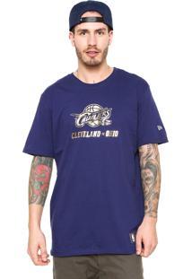 Camiseta New Era Cleveland Cavaliers Nba Azul