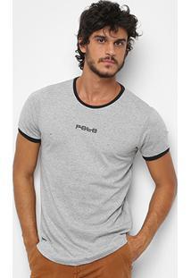 Camiseta Rg 518 Básica Swag Flame Masculina - Masculino-Grafite