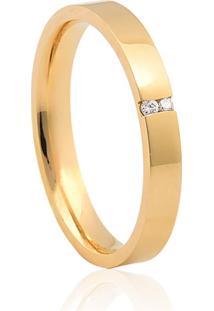 Aliança De Casamento Em Ouro 18K 3,0Mm