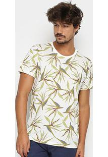 Camiseta Colcci Folhagens Masculina - Masculino