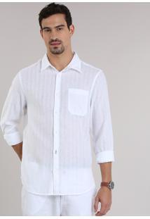 Camisa Comfort Branca
