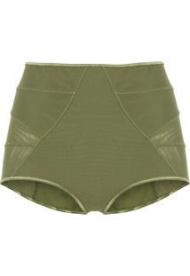 Calcinha Hot Pants Basic - Verde