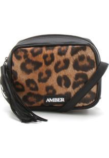 Bolsa Amber Onça Preta