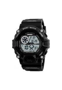 Relógio Masculino Skmei 1019 - Preto