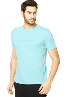 Camiseta Calvin Klein Jeans Lisa Verde