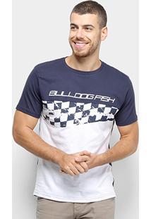 Camiseta Bulldog Fish Silk Racing Masculino - Masculino