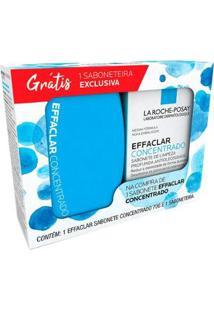 La Roche Posay Effaclar Kit ? 1 Sabonete Em Barra Effaclar Concentrado 70G + 1 Saboneteira Kit - Unissex-Incolor