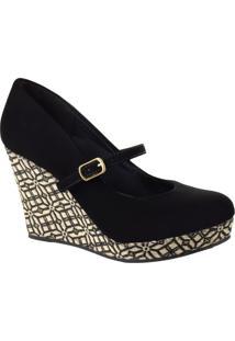 Sapato Feminino Anabela Bárbara Krás