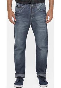 Calça Jeans Razon Stone Regular Fit - Masculino-Jeans