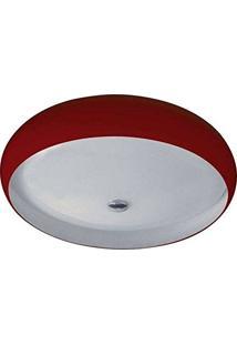 Plafon 3045 E27 3 Lâmpadas Vermelho Pantoja 32049