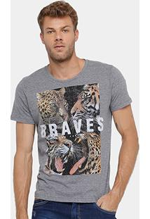 Camiseta Colcci Tigre Masculina - Masculino