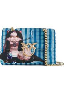 Pinko Bolsa X Lucia Heffernan Love - Azul