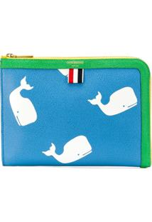 Thom Browne Clutch Mini Icon - Azul