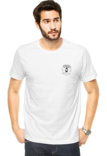 Camiseta Manga Curta Colcci Estampada Branca