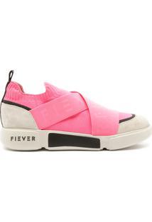 Tênis Melrose Cross Boot Pink Fluor   Fiever