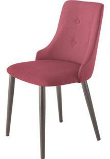 Cadeira Francis Assento Rustico Marsala Com Base Tabaco - 46850 Sun House